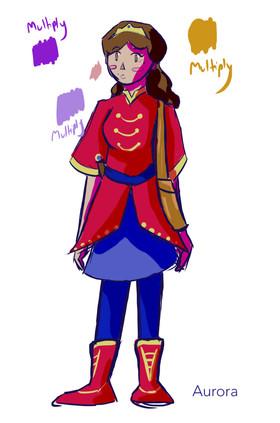 Aurora sketches