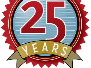 Sakurai celebrates milestone anniversary with special logo.