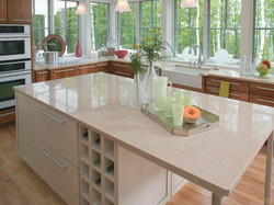 Cardiff Cream Kitchen Countertop