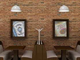 Restaurant Booth Artwork