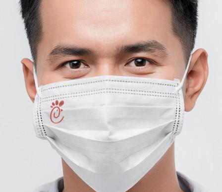 Custom Imprinted Protective Mask