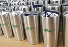 Richard Greene Aluminum Mug