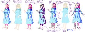Eliza Color Guide