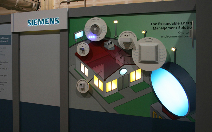 Siemens Lit Booth