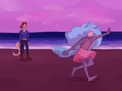 Archer and Symari Dance 1