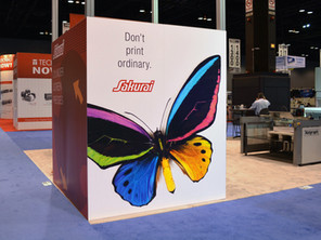 Leading screen press manufacturer creates a buzz at back-to-back industry shows with an aggressive t