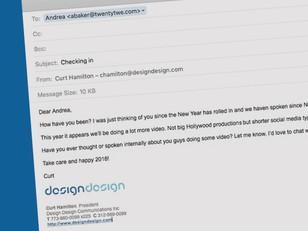 Dear Andrea...
