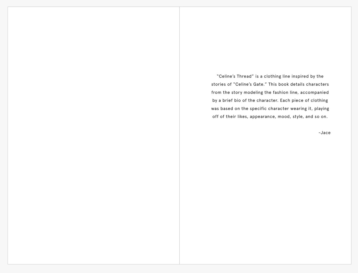 Celine's Thread: Preface