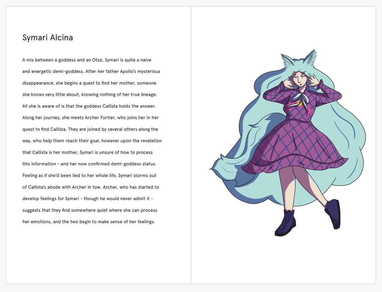 Celine's Thread: Pages 10-11