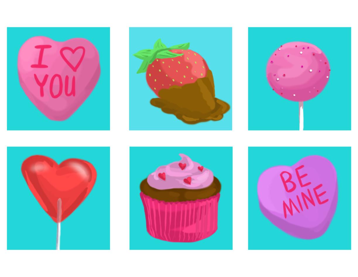 Valentine's Day Stickers