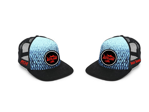 AOTL New England inspired Flat Billed Snap Back