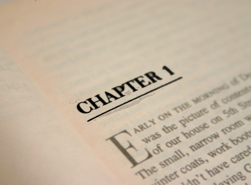 Vässa ditt manus, del 2 - Det första kapitlet