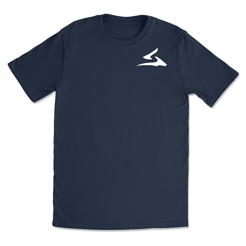 Sokhyte Tee Classic fit Navy