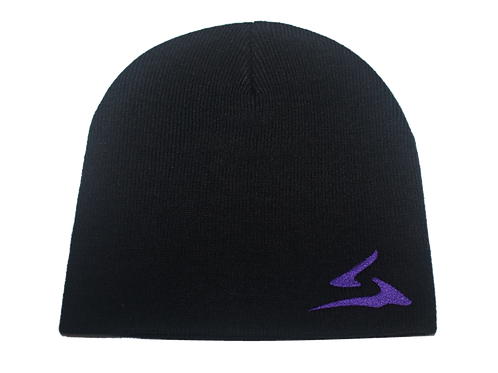 Sokhyte Beanie Classic fit Black Purple