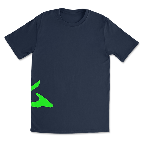 Sokhyte Tee Classic fit Navy Fluro