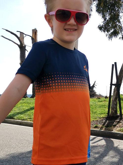 'Hexa Cool Kids' Orange Navy