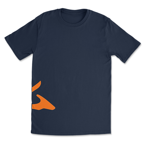 Sokhyte Tee Classic fit Navy Orange