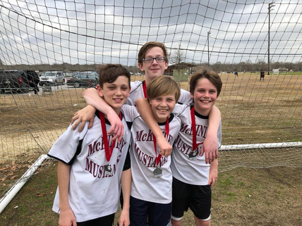 McKinley Middle Boys Soccer Places 2nd in tournament