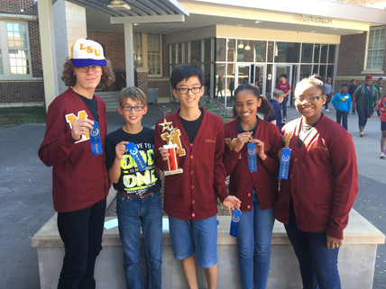 McKinley Middle Students Win BRHS STEM Quiz Bowl!
