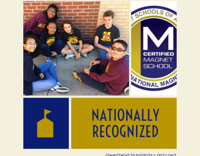 McKinley Middle is proud to announce that it has been recognized as a nationally certified magnet sc