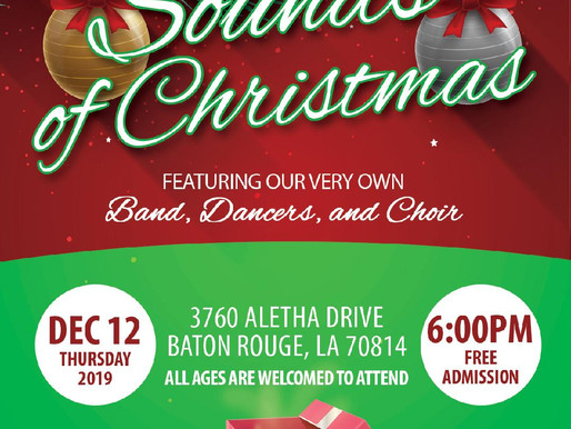 "Park Forest presents ""Sounds of Christmas"" December 12, 2019"