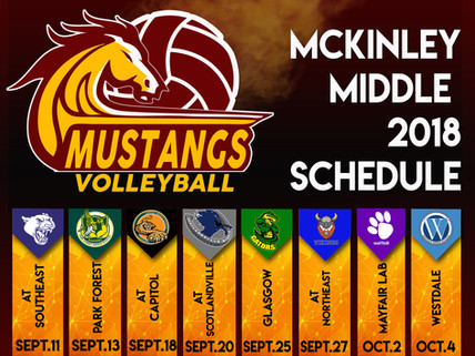 MMAM sports schedules are out!