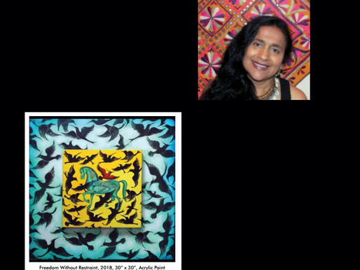 Glasgow Art teacher Geeta Dave invited to participate in prestigious residency