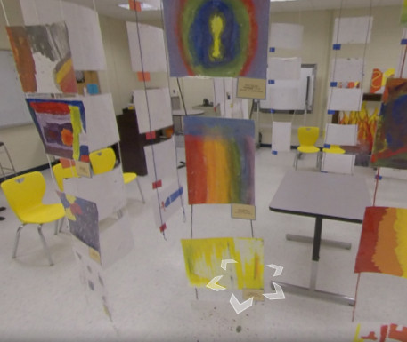 Southeast Middle hosts digital art gallery