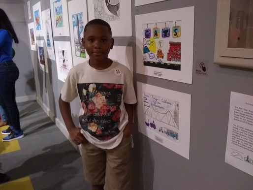 Red Stick Bicentennial Art Flashback, Children's talent on display at LASM