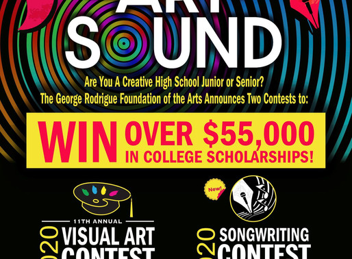 GRFA is Proud to Announce our 2020 Scholarship Art Contest Theme AND our Brand NEW Scholarship Songw