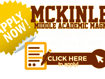 MAGNET APPLICATION PERIOD OPENS OCTOBER 8TH AT MIDNIGHT!
