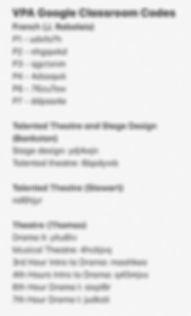 vpa google class codes page one.jpg