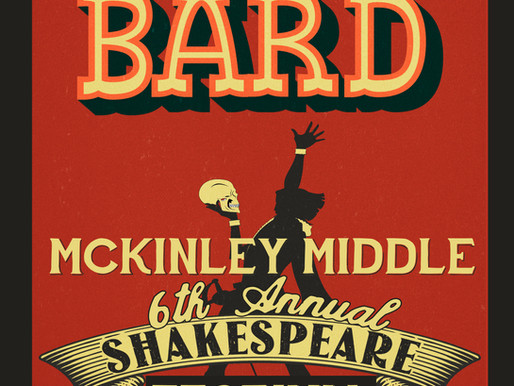 McKinley Middle Talented Theatre to present their 6th annual Shakespeare Fest in March.