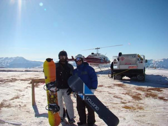NJ here for Diamond Peaks Heli-Ski Adventures