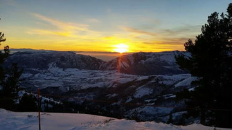 Sunset from Sunown Lift PM