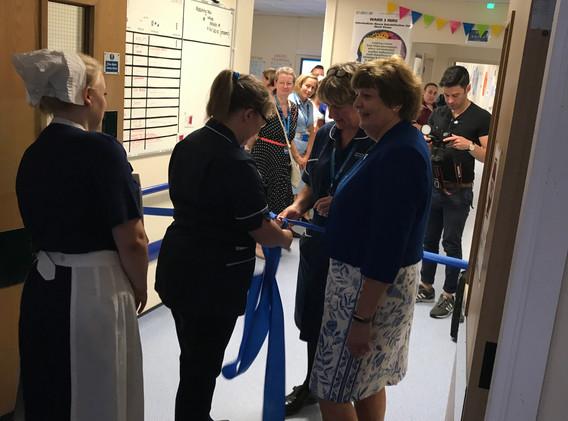 Opening of the Trafford Hospital INRU