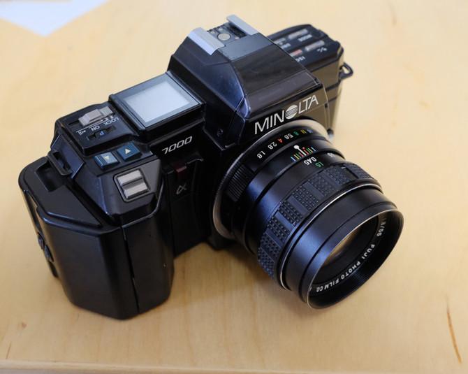 フィルムカメラ ミノルタα-7000購入 その1