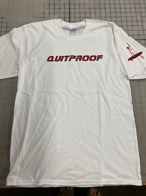 QuitProof White Shirt