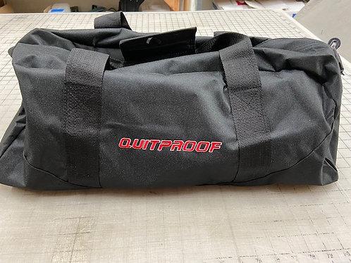 QuitProof Black Sports Bag