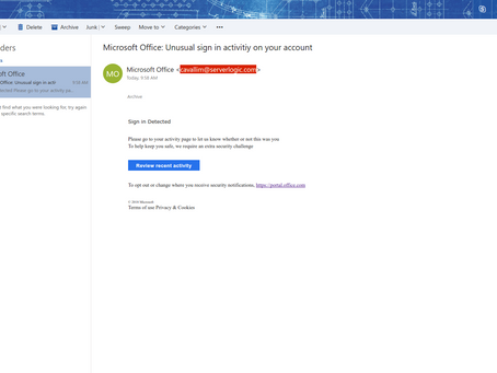 Russian Phishing Activity targets Office 365 Users
