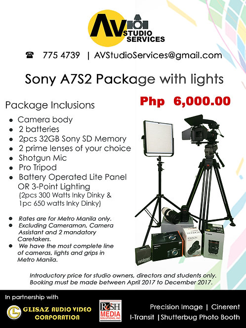 Sony A7S2 Package