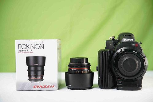 Rokinon85mm T1.5 Cine DS Lens