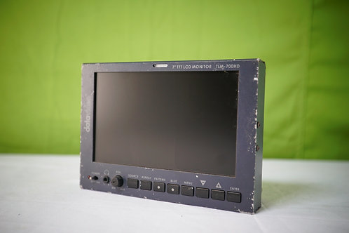 """Datavideo TLM-700HD 7"""" SD/HD LCD Monitor with V-Mount Battery Adapter"""