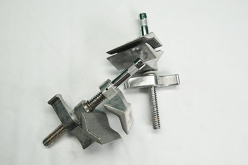"Matthews Matthellini Clamp with 2"" Center Jaw (Silver)"