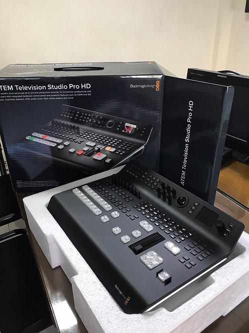 Blackmagic Design ATEM Television Studio Pro HD - 8-input Full HD Switcher