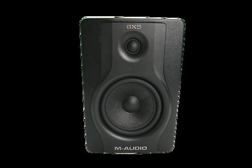 "M-Audio BX5 D3 5"" 2-Way 100W Powered Studio Monitor (Single)"