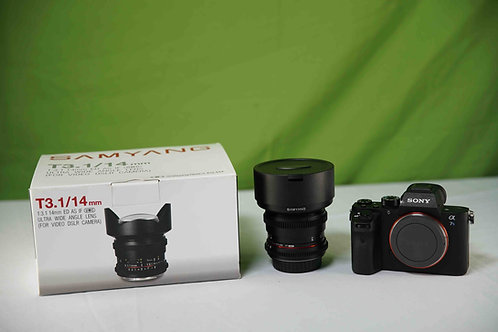 Samyang 14mm f/2.8 IF ED UMC Lens For Canon EF