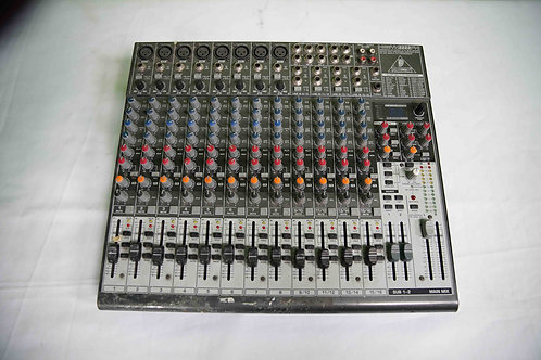 16 Channel Audio Mixer- Behringer
