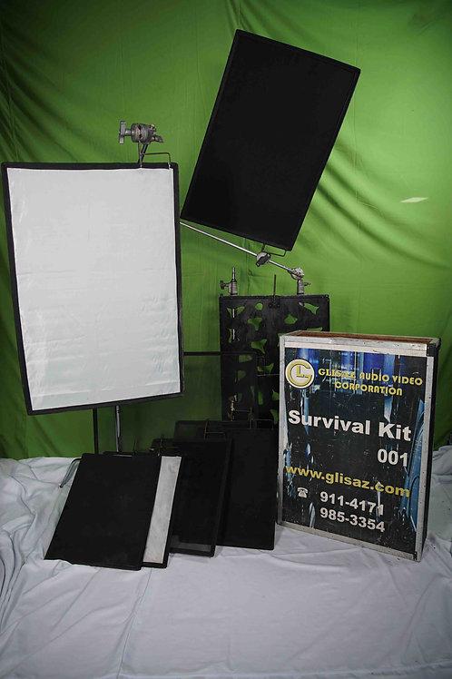 Scrims and Flag Kit/ Survival Kit