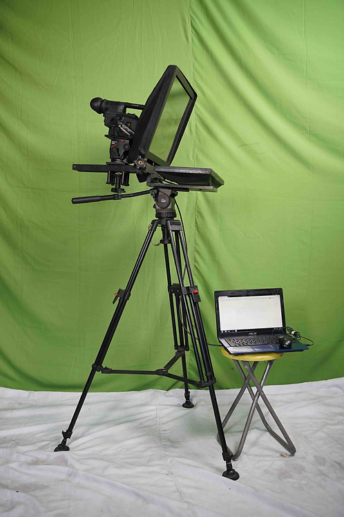 Teleprompter w/ Laptop
